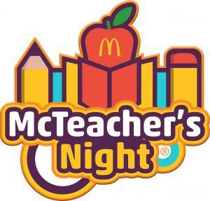 McTeacher's Night - TUESDAY, MAY 7