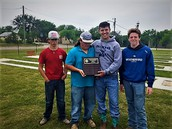 Weatherford Claims Team Trophy At Noon Lions Horseshoe Pitching Tournament