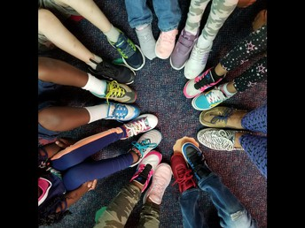 MRS. CAMACHO'S CLASS MISMATCHED SHOES