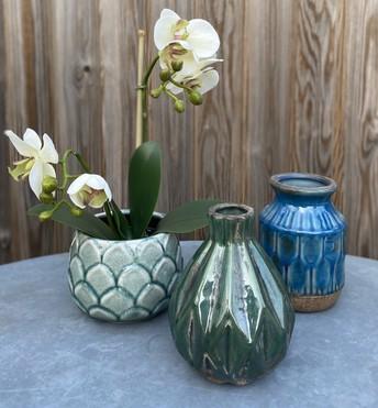 Ceramics & faux plants