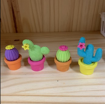 Cactus Eraser