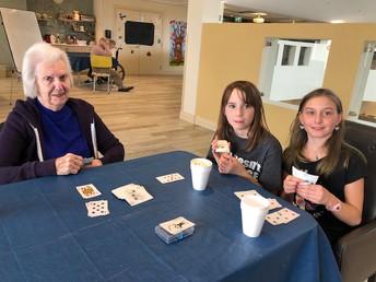 Kids with Seniors