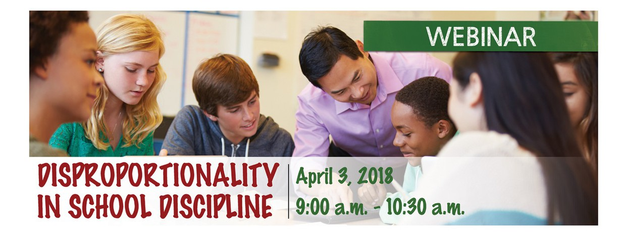 Disproportionality in School Discipline - April 3