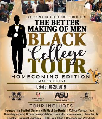 Black (Men) College Tour