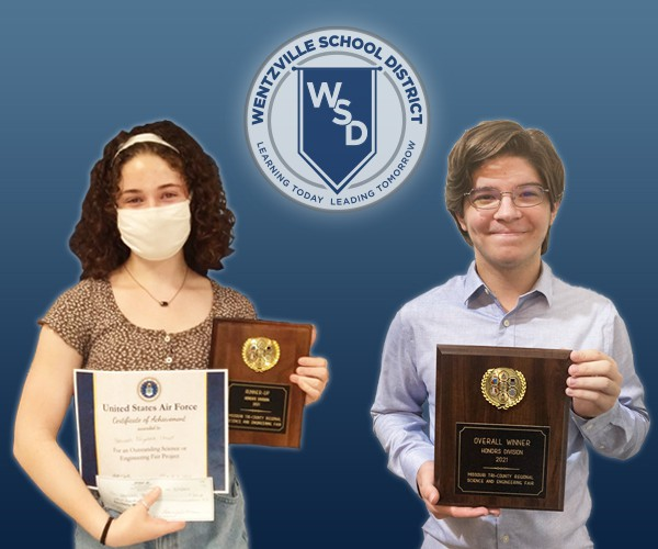 Wentzville Students Excel at Regional Science and Engineering Fair