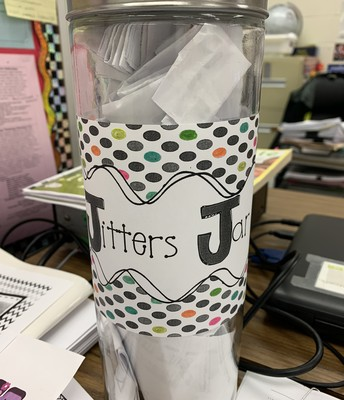 Naming our jitters can help, we all have them!