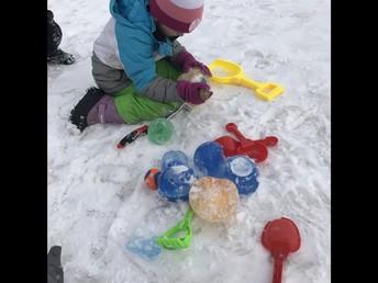 Outdoor Play in Kindergarten!