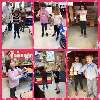 Exploring air pressure and gravity!