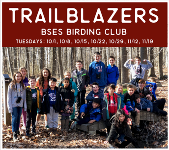 Fall Session of Trailblazers Club Is Full!  Look for Information on Future Sessions!
