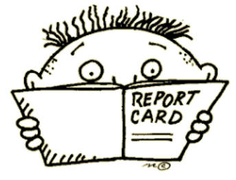 2nd 9 Week Report Card Time is Here