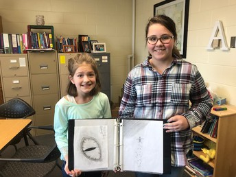 The Art Corner Featuring 5th Grade Student Anya Thompson by Kennedy Kolousek & Mrs. Azure
