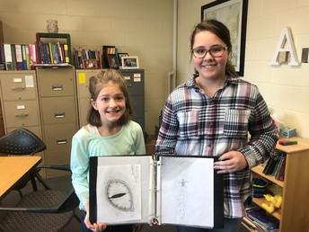 The Art Corner Featuring 5th Grade Student Anya Thompson by Kennedy Kolousek & Mrs. Azure