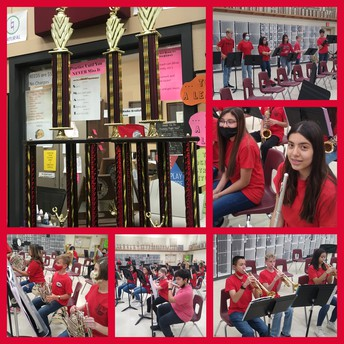 LMS Band Takes Sweepstakes!