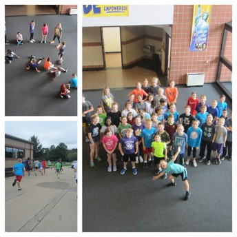 Running club offers ways for 6th graders to learn and have fun while running