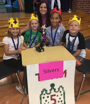 WINNING Team, Mrs. Silvers' Battle of the Books Team