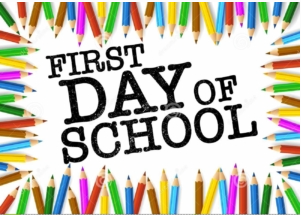 Student Arrival - First Day of School