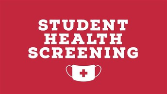 Reminder: COVID-19 Weekly Health Screening Form