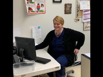 Meet Jill Komosinski-Our Nurse! Officially starts full time next week!