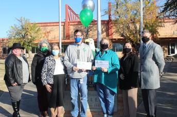 Coach Bird wins PISD Education Foundation Grant
