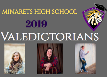 Introducing the 2019 Valedictorians