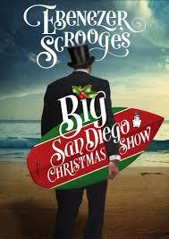 Ebenezer Scrooge's BIG San Diego Christmas Show