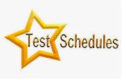 Grade 3-5 Testing Schedule
