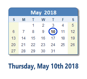 Southfield: Thursday, May 10, 2018 5:00PM - 8:00 PM