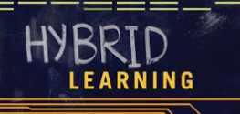 "What does ""hybrid school"" mean?"