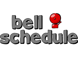 New Bell Schedule Reminders
