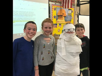 6th Grade Mummies