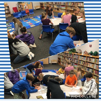Library Scoot with 5th Grade!