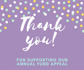 Thank You to Our Annual Fund Donors!