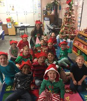 Elf Day - Mrs. Hill's Class