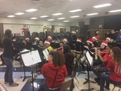 Mrs. Lantto directing the Band.