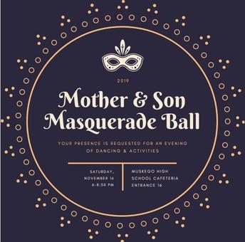 Mother & Son Masquerade Ball