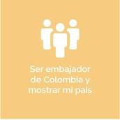 SER EMBAJADOR DE COLOMBIA