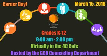 GCA Career Day - March 15, 2018