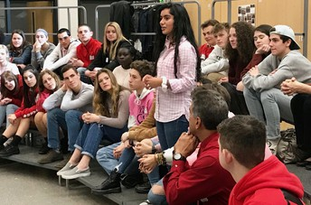 Bucks County student group meets at QCHS