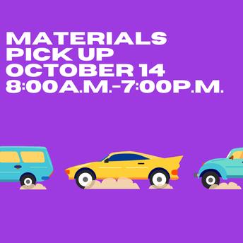 Materials Pick Up Round 2