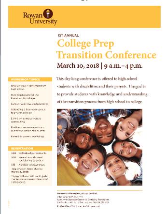 Rowan University: College Prep Transition Conference