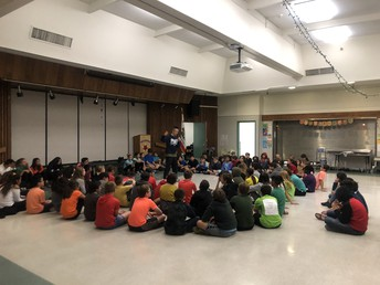 6th Grade Hip-Hop Performance, Newhall School District Supports the Performing Arts