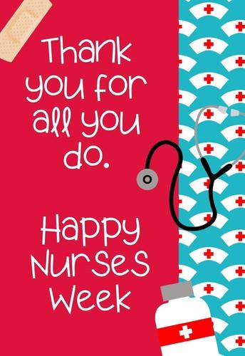 Nurse Appreciation Week!