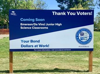 Emerson / Da Vinci Junior High Science Classrooms Ground Breaking in Fall 2020