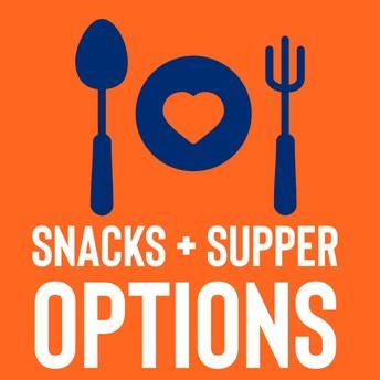 Snacks + Supper Program
