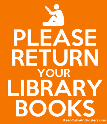 Please, please, please look for library books at home!