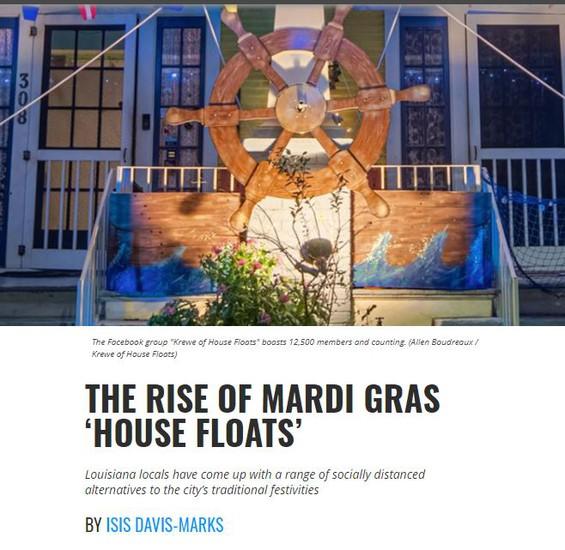 Smithsonian Magazine House Floats