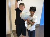 Egg Drop STEM project