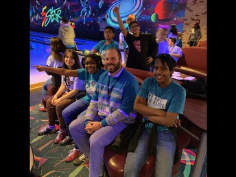 Mr. Lee with our bowlers