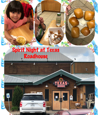 March Fundraiser: Texas Roadhouse