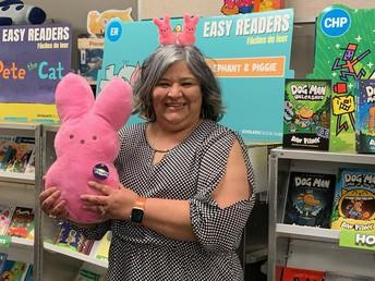 Mrs. Ramirez-Librarian